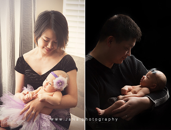 Vancouver-baby-photographer-100-days-mom-dad