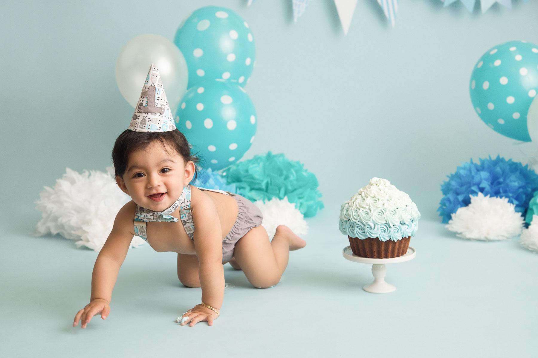 cake smash photography, Cake smash / One year old