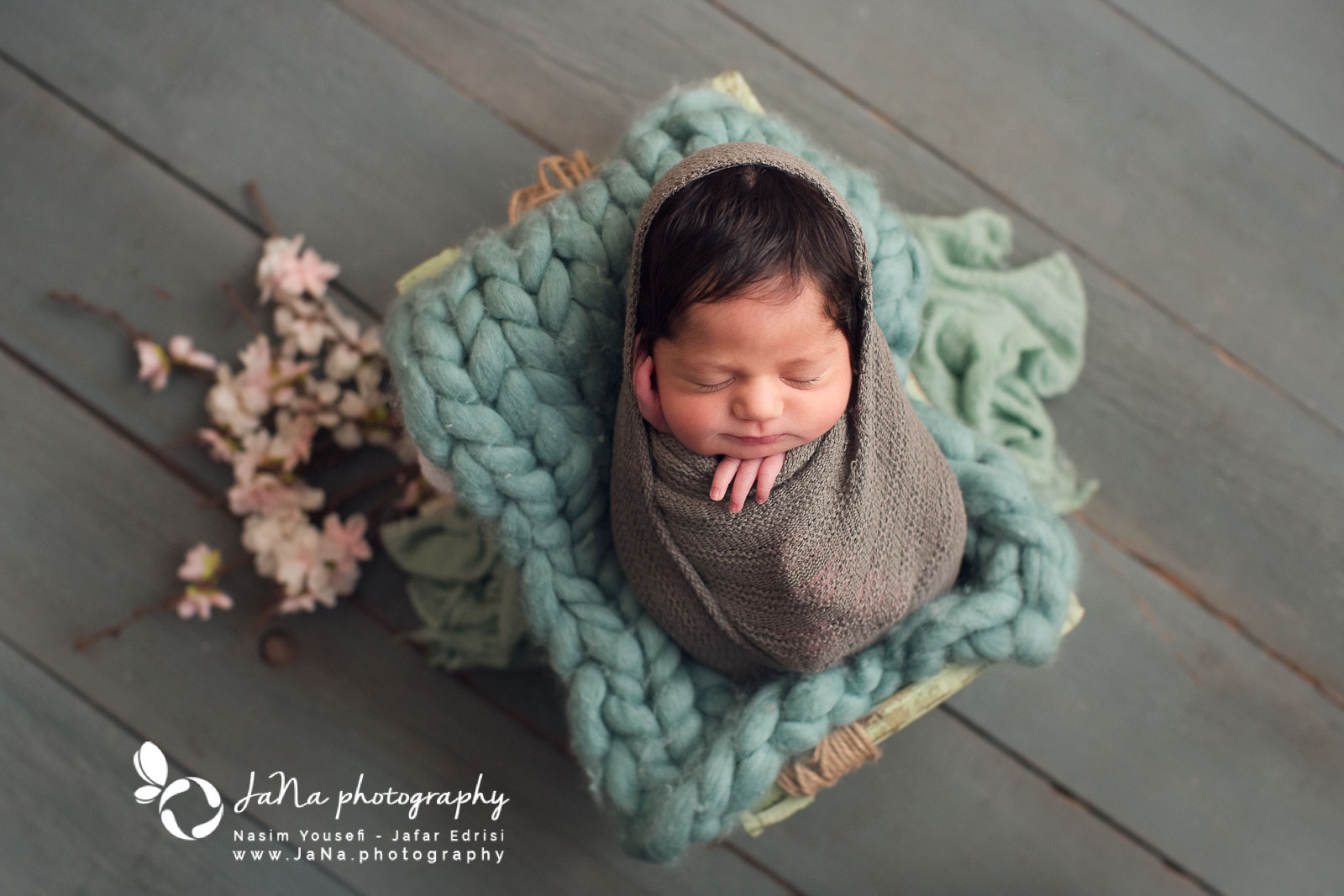 North Vancouver newborn photography | Hero