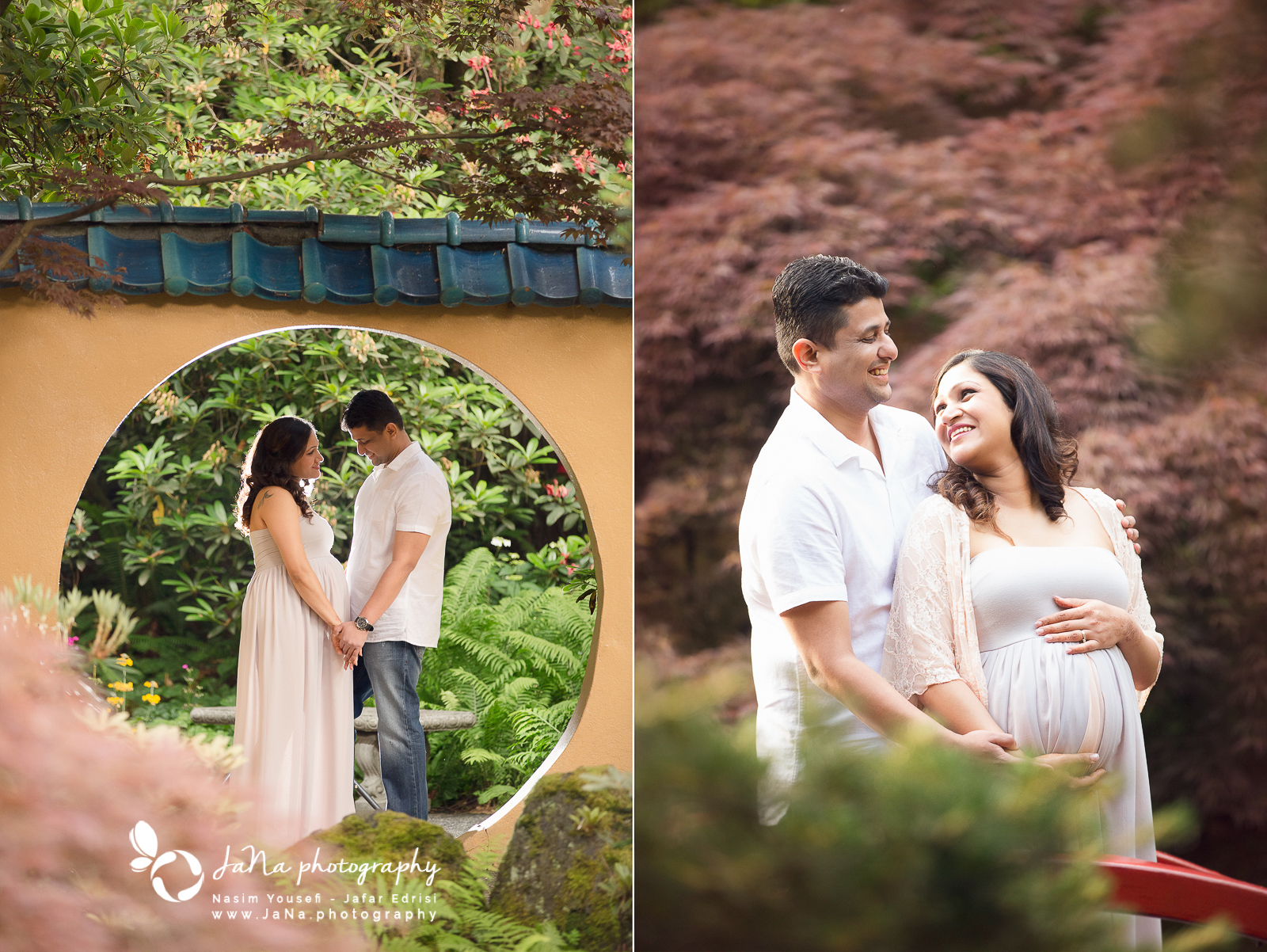 Vancouver maternity photography - Park Tilford Gardens