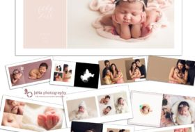 Vancouver newborn photography | photo book