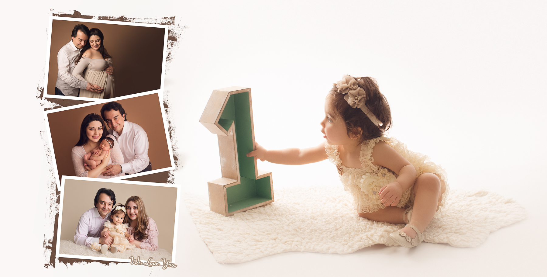 Vancouver & Burnaby baby photography - cake smash - maternity, newborn