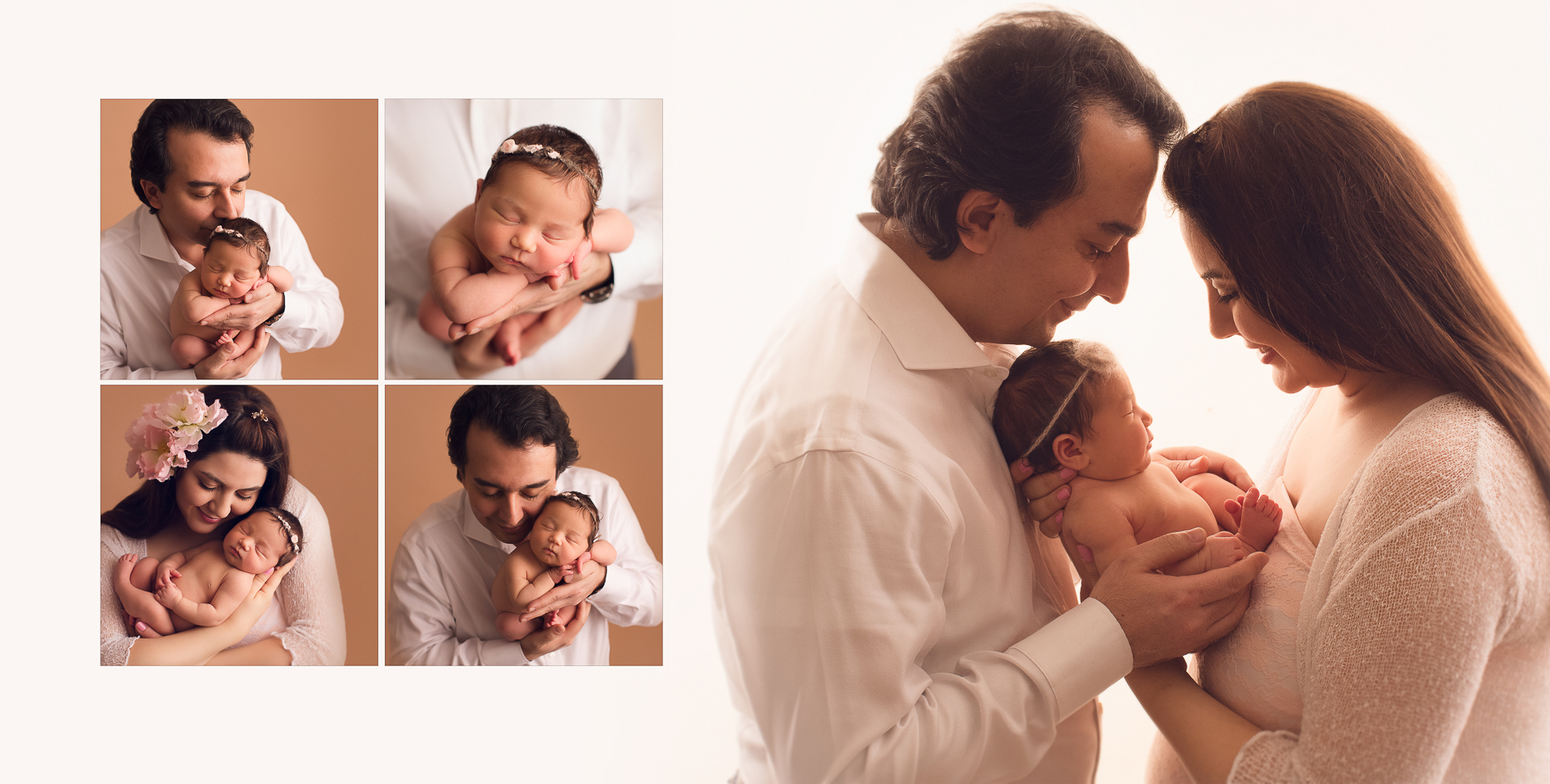newborn photography with mom and dad.