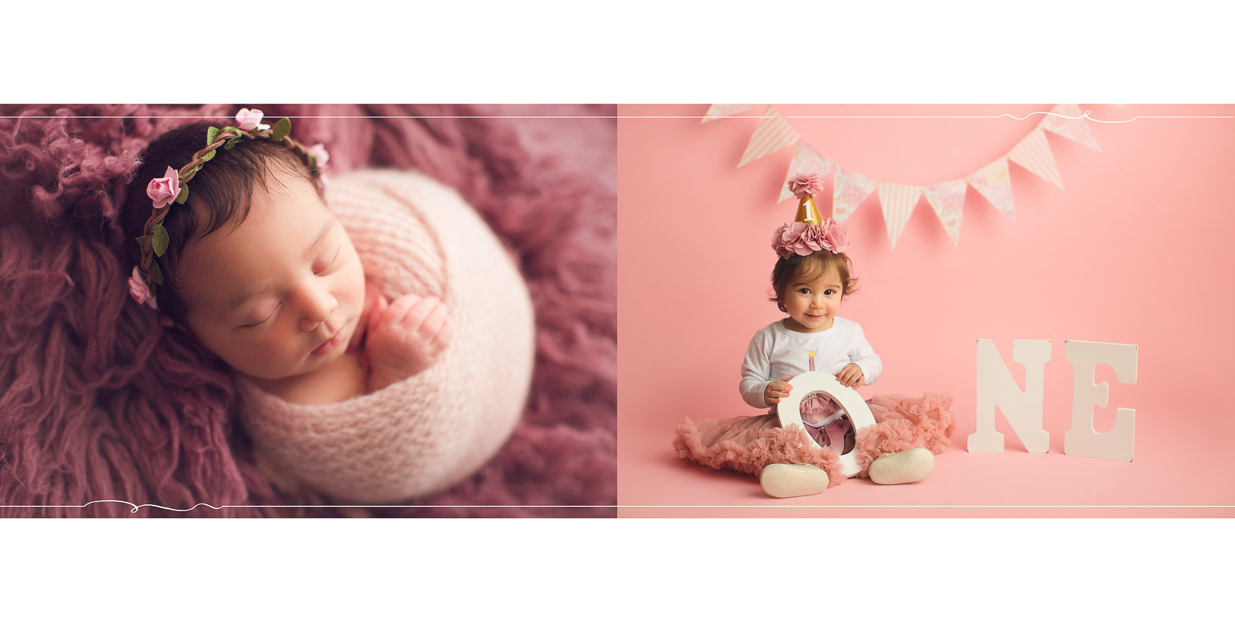 Vancouver & Burnaby baby photography - cake smash - newborn