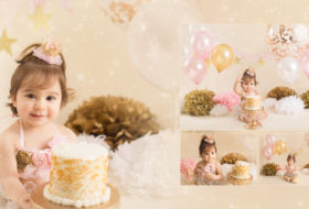 Vancouver cake smash photography | Ayla