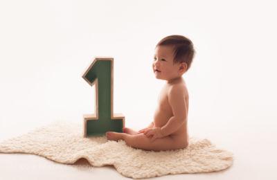 cake smash - baby photography one year old