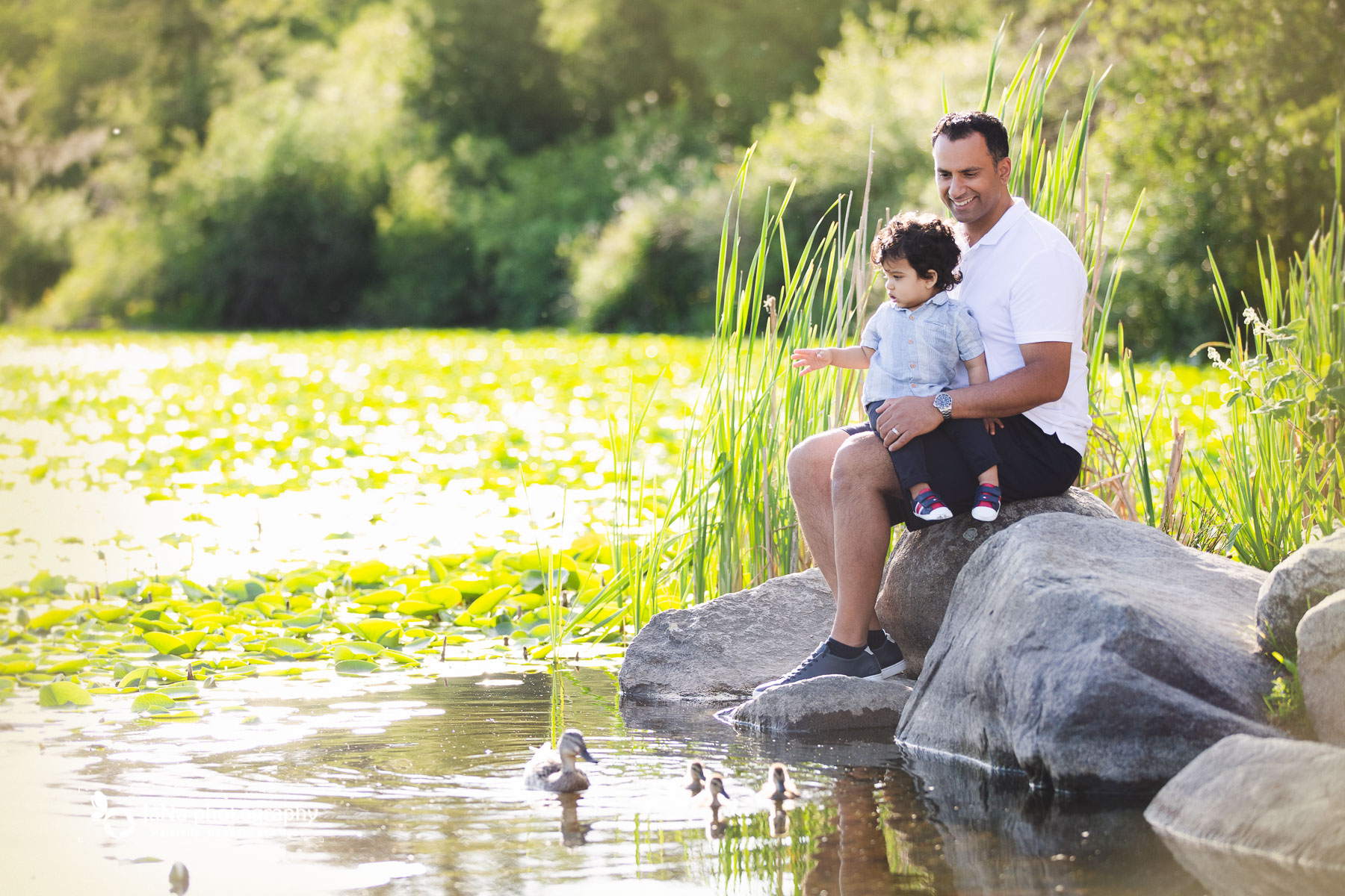 Vancouver outdoor photography - dad and baby - family