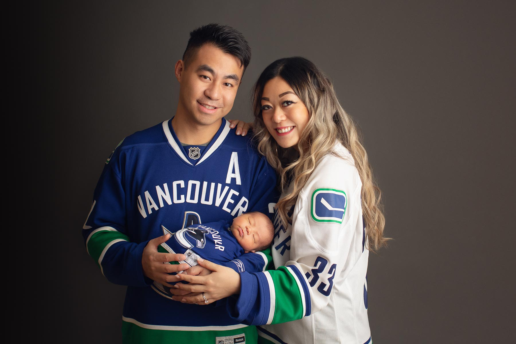 Canucks newest fan| newborn photography, Canucks newest fan | newborn photography