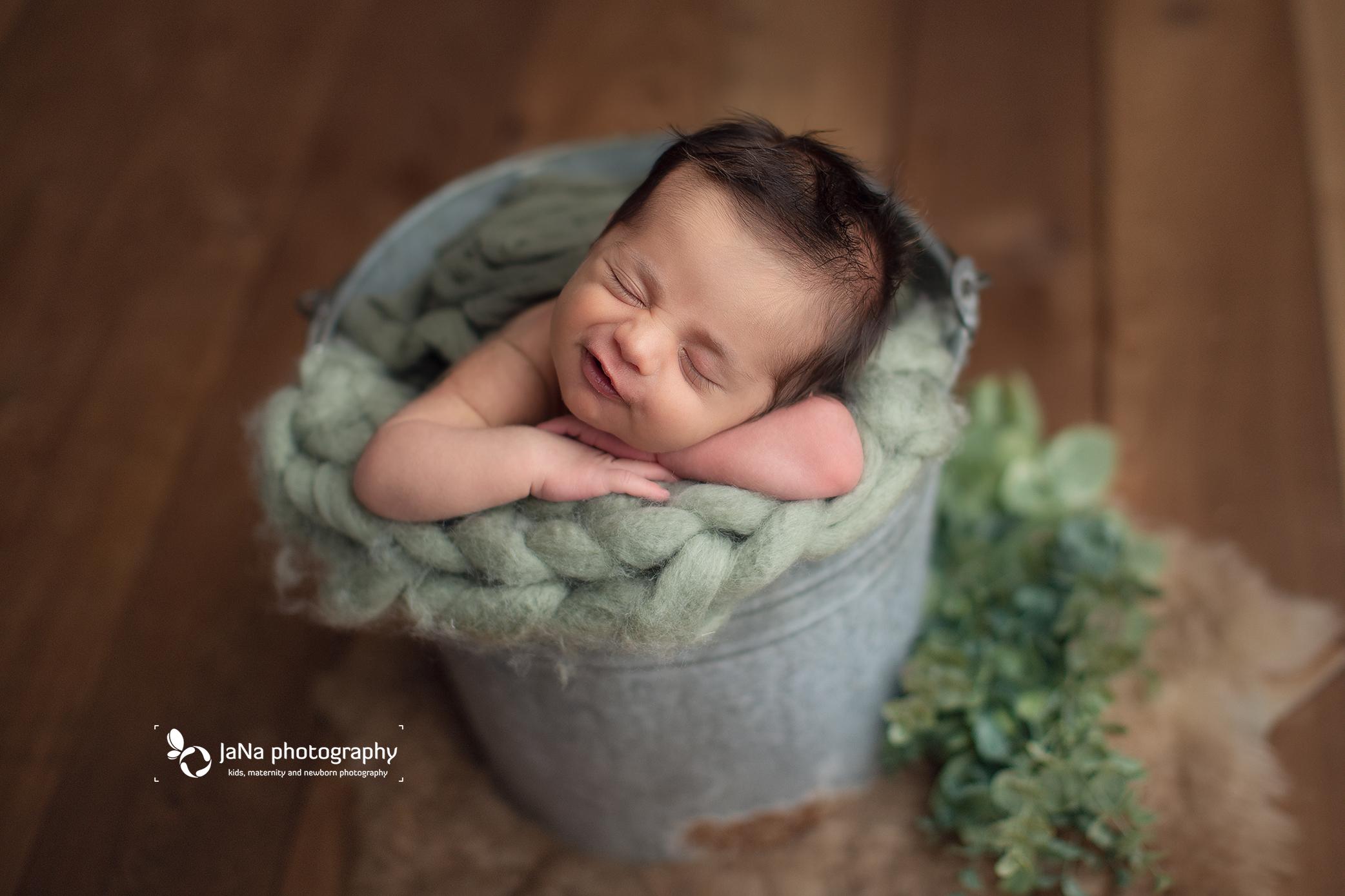 brown and green setup - big smile-jana photography