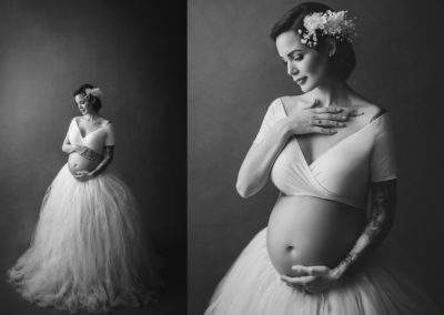 black-white-maternity-gown-tutu