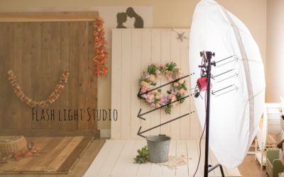 Is studio flashlight photography safe for babies and newborns?