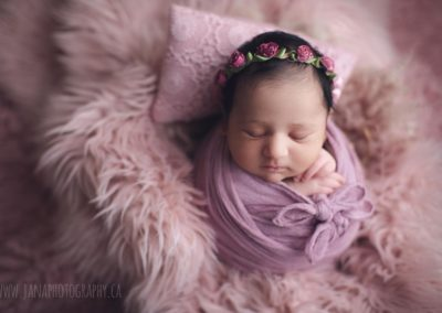newborn-baby-girl-photography-wrap-pink