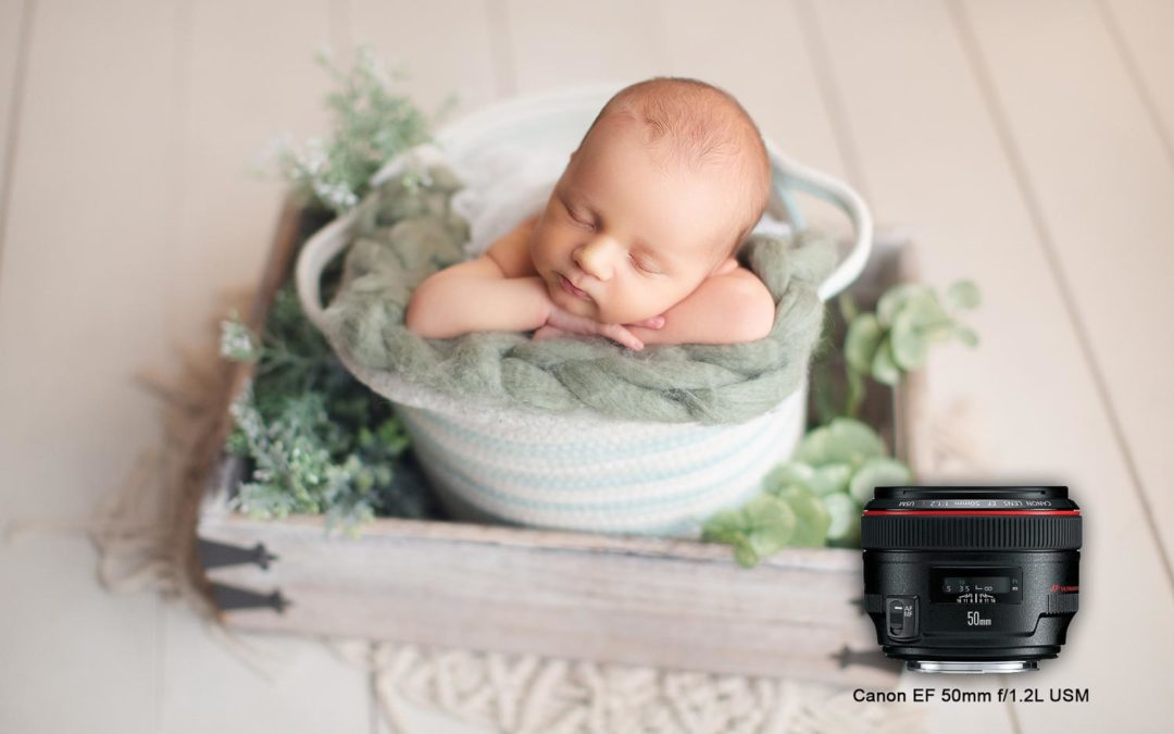 Which lens is the best for maternity and newborn photography?