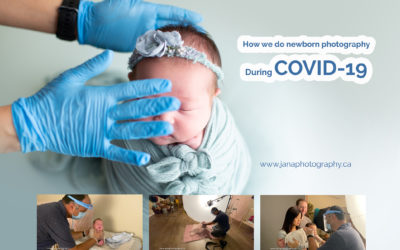 Our first newborn photography experience after reopening – Covid-19