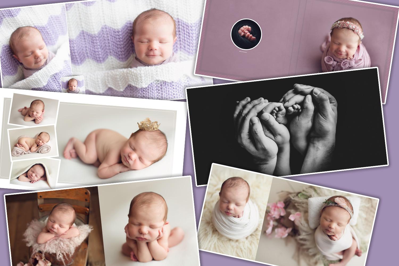 newborn photography luxury
